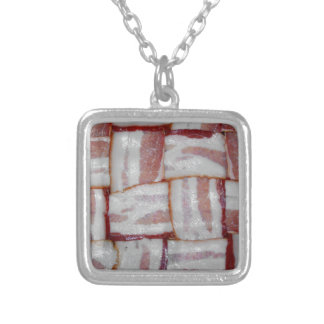 Bacon Weave Personalized Necklace