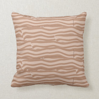Bacon Weave Pattern Throw Pillow