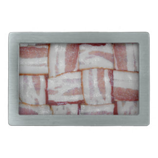 Bacon Weave Rectangular Belt Buckle