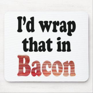 Bacon Wrap Mousepad