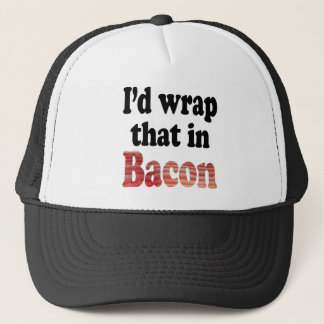 Bacon Wrap Trucker Hat