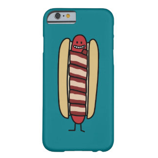 Bacon Wrapped Hot Dog Hotdog Wiener Bacon-wrapped Barely There iPhone 6 Case