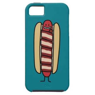 Bacon Wrapped Hot Dog Hotdog Wiener Bacon-wrapped iPhone SE/5/5s Case