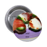 Bacon Wrapped Jalapenos Pinback Buttons