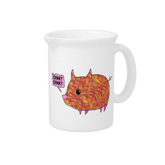 Bacon Wrapped Piggy Beverage Pitcher