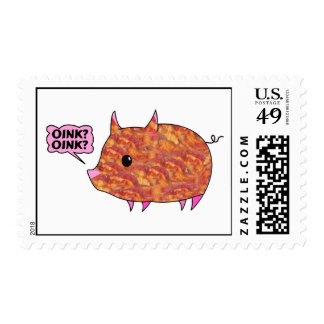 Bacon Wrapped Piggy Postage