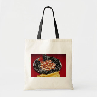 Bacon-wrapped seafood hors d'oeuvres bag