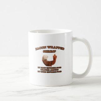 Bacon Wrapped Shrimp Classic White Coffee Mug