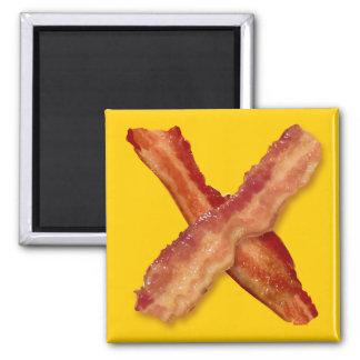 Bacon X O X LOVE Magnet