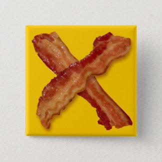 Bacon X O X LOVE Pinback Button