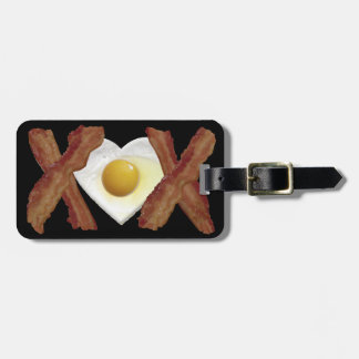 Bacon X O X LOVE Tag For Luggage