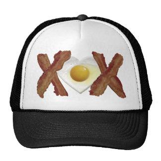 Bacon X O X LOVE Trucker Hat