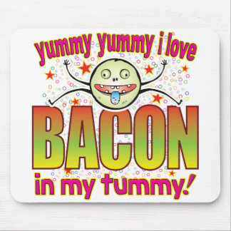 Bacon Yummy Freak Mouse Pad