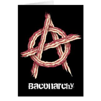 Baconarchy Tarjeta De Felicitación