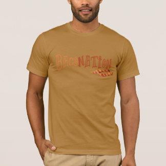 Baconation, bacon nation custom t-shirt design