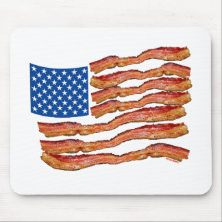 Baconflag Mouse Pad