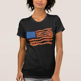Baconflag Camiseta