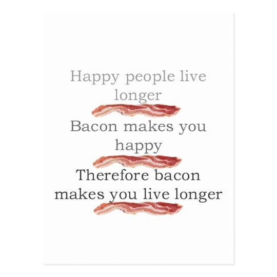 baconlogicwithbacon postcard