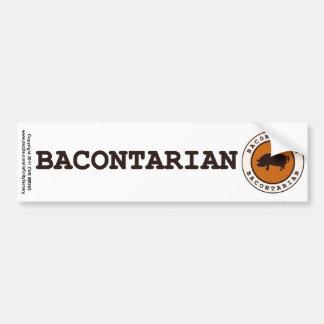 Bacontarian Car Bumper Sticker