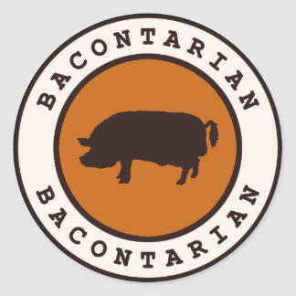 Bacontarian Sticker