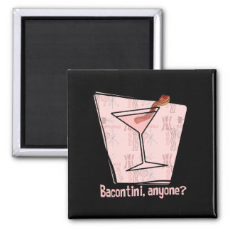Bacontini Anyone 2 Inch Square Magnet