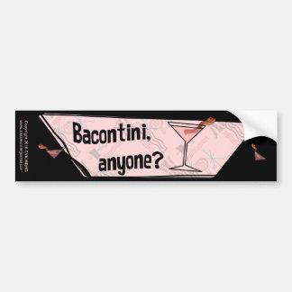 Bacontini Anyone Bumper Sticker