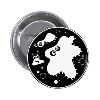 Bacteria 2 Inch Round Button