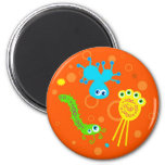 Bacteria 2 Inch Round Magnet