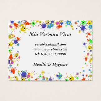Bacteria Border, Business Card