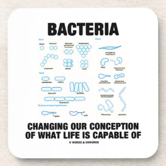 Bacteria Changing Our Conception What Life Is Beverage Coaster