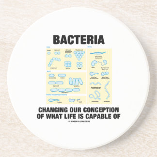 Bacteria Changing Our Conception What Life Is Drink Coaster