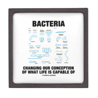 Bacteria Changing Our Conception What Life Is Premium Jewelry Box