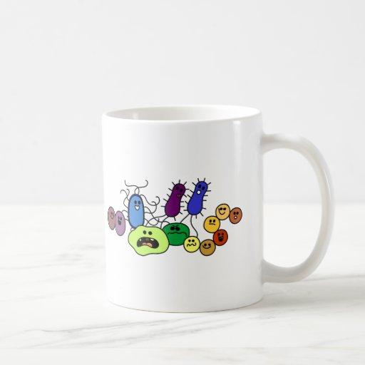 Bacteria Classic White Coffee Mug