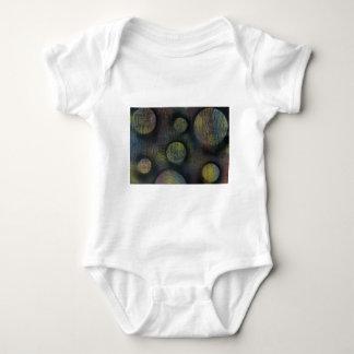 Bacteria enmeshed baby bodysuit