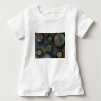 Bacteria enmeshed baby romper