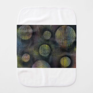 Bacteria enmeshed burp cloth