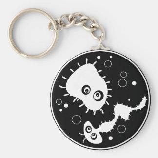 Bacteria Key Chain