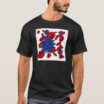 Bacteria or Virus and Blood Cells T-Shirt