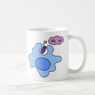 Bacteria Phagocytosis Classic White Coffee Mug