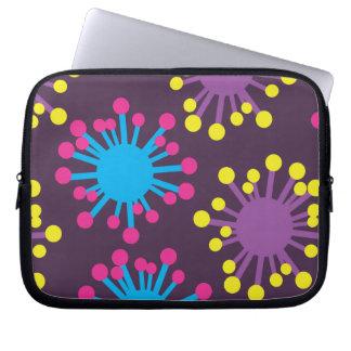 Bacteria Spores Laptop Computer Sleeves