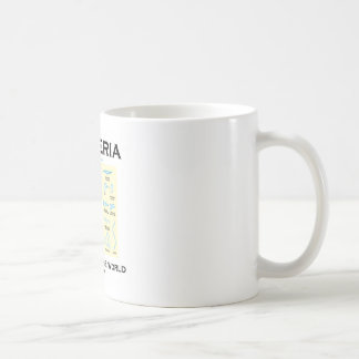 Bacteria Truly Rule The World (Morphology) Coffee Mug