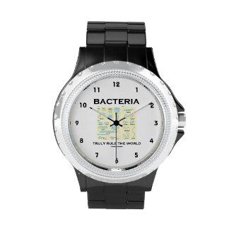Bacteria Truly Rule The World (Morphology) Wrist Watch