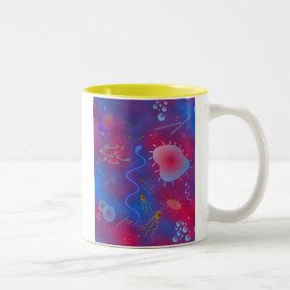 Bacteria Two-Tone Coffee Mug