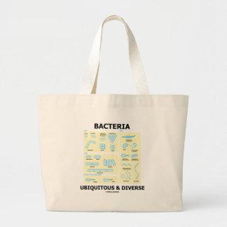 Bacteria Ubiquitous & Diverse (Shapes & Sizes) Canvas Bag