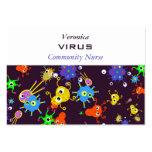 Bacteria Wallpaper Business Card