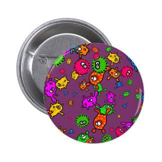 Bacteria Wallpaper Button