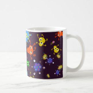 Bacteria Wallpaper Classic White Coffee Mug