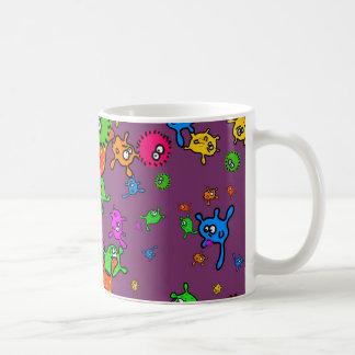 Bacteria Wallpaper Coffee Mug