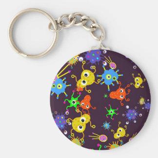 Bacteria Wallpaper Keychain