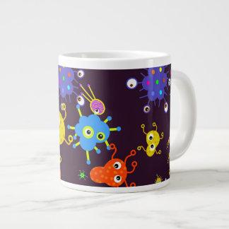 Bacteria Wallpaper Large Coffee Mug